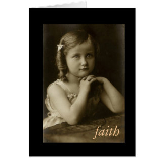 018-2, faith Hebrews 11:1 Greeting card