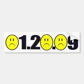 01.20.09 Sad - Very sad Bumper Sticker