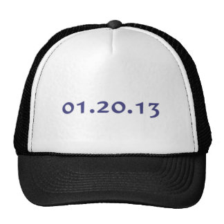 01.20.13 - Obama's last day as President Trucker Hat
