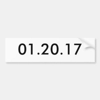 01.20.17 AUTOCOLLANT DE VOITURE