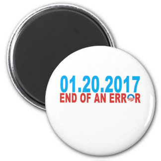 01 20 2017 END OF AND ERROR OBAMA MAGNET
