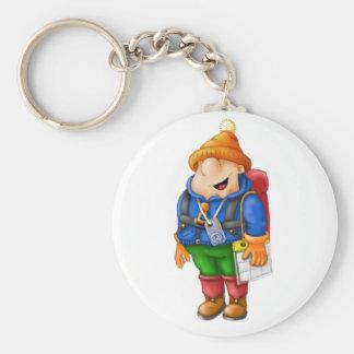 01 Hiker Keychain