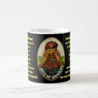 01. One of Swords - Sailor tarot Coffee Mug