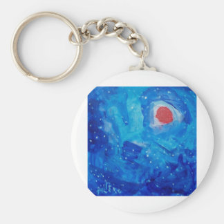 01 Universe Within by piliero Basic Round Button Keychain