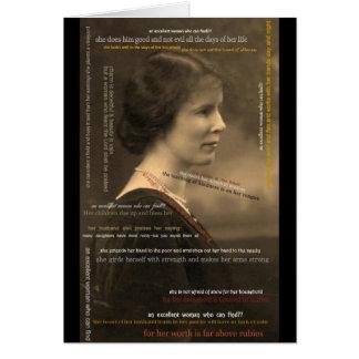 022-5 Proverbs 31 Woman Card