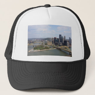 0230 Pittsburgh (Golden Triangle).JPG Trucker Hat