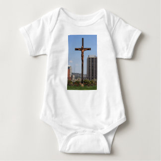 0234 Holy Cross.JPG Baby Bodysuit
