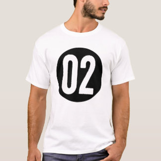 02 in a Circle T-shirt