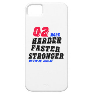 02 More Harder Faster Stronger With Age iPhone 5 Cases