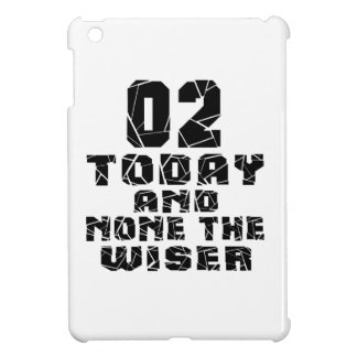 02 Today And None The Wiser iPad Mini Cover