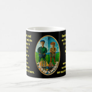 02. Two of Swords - Sailor tarot Coffee Mug