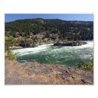 0380 8/12 Kootenai Falls in Libby, MO Photographic Print