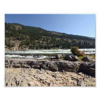 0398 8/12 Kootenai Falls in Libby, MO. Photo Art