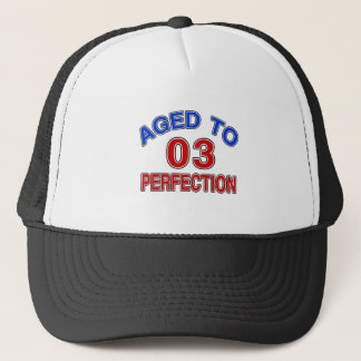 03 Aged To Perfection Trucker Hat