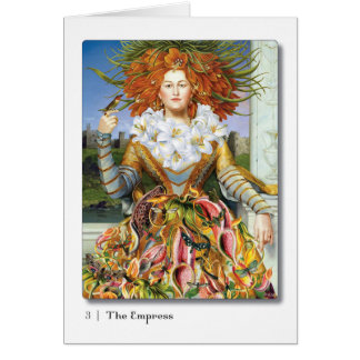 03 Empress Tarot Greeting Card