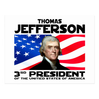 03 Thomas Jefferson Postcard