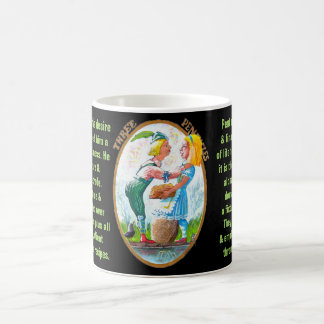 03. Three of Pentacles - Alice tarot Coffee Mug