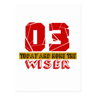 03 Today And None The Wiser Postcard