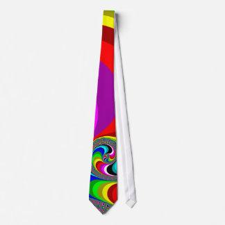 040 Obama - Fractal Art Tie