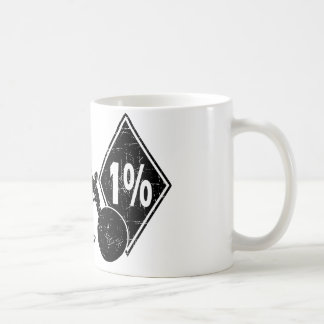 0413032011 Biker 1% Distress (Biker) Coffee Mug