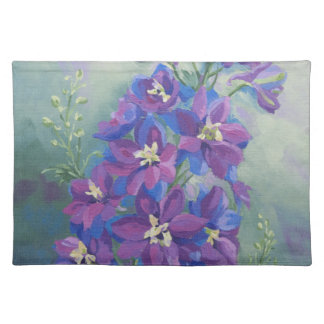 0429 Purple Delphinium Placemat