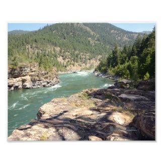 0448 8/12 Kootenai Falls. Photo Print