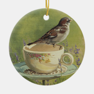 0470 Sparrow Ornament