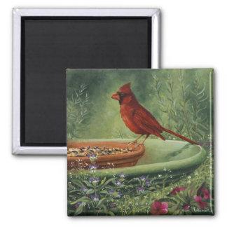 0487 Cardinal Magnet