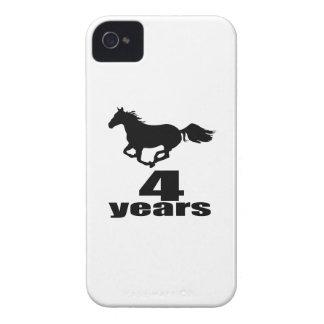 04 ans de conceptions d'anniversaire coque Case-Mate iPhone 4