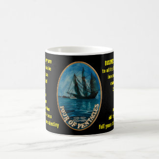 04. Four of Pentacles - Sailor tarot Coffee Mug
