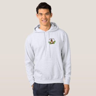 (04)Hiking for Hops Hooded Sweat Shirt