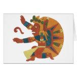 04.Tonatiuh - Mayan / aztec Creator God Kort