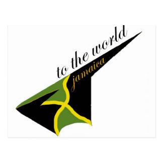 0500 Jamaica To The World Postcard