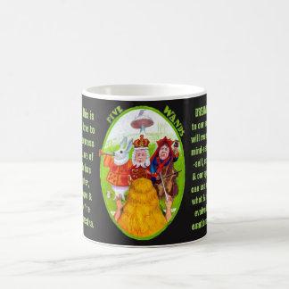 05. Five of Wands - Alice tarot Coffee Mug