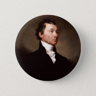 05 James Monroe 2 Inch Round Button