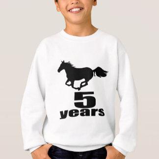 05 Years Birthday Designs Sweatshirt