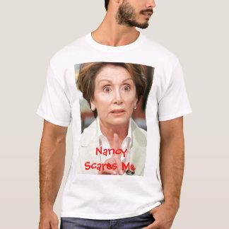 060508_Pol_PelosiEX_BIG, Nancy Scares Me T-Shirt