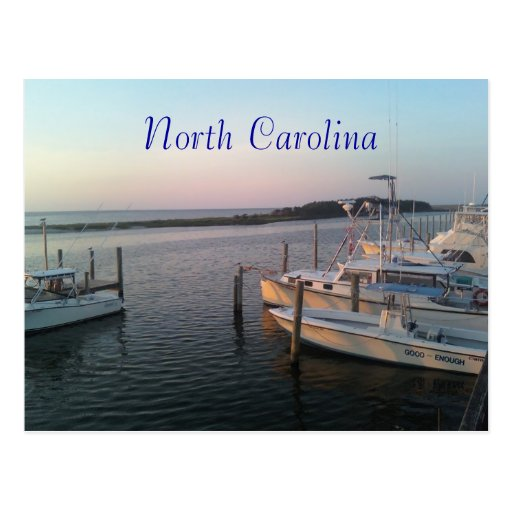 0611001956a, North Carolina Post Card