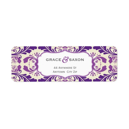 064 Enna :: RETURN ADDRESS LABEL - savvy