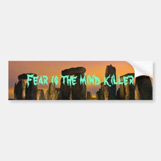 065, Fear is the mind killer Bumper Sticker