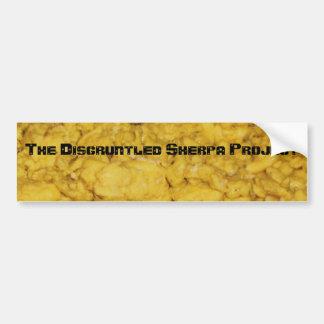 065, The Disgruntled Sherpa Project Bumper Sticker