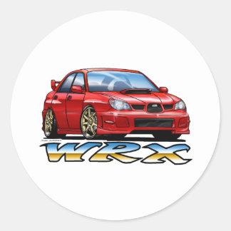 06_09_WRX_RED ROUND STICKERS