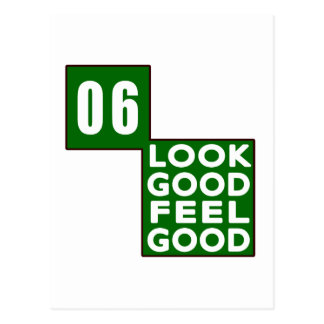 06 Look Good Feel Good Postcard