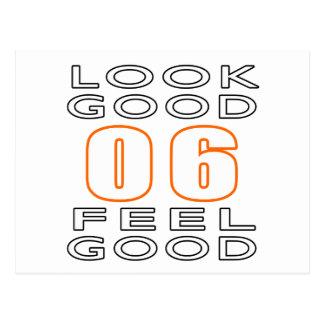 06 Look Good Feel Good Post Card