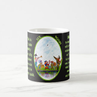 06. Six of Wands - Alice tarot Coffee Mug