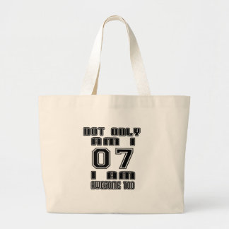 07 I AM AWESOME TOO LARGE TOTE BAG
