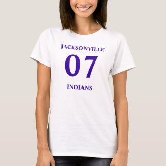 07, JACKSONVILLE, INDIANS  T-Shirt