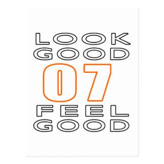 07 Look Good Feel Good Postcard