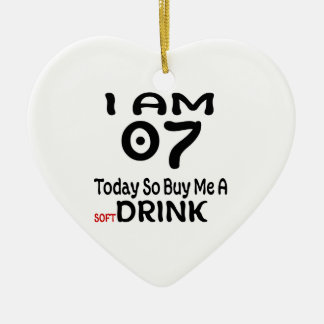 07 Today So Buy Me A Drink Ceramic Ornament