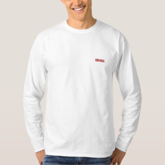 08008 EMBROIDERED LONG SLEEVE T-Shirt